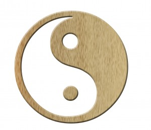 The famous Yin Yang symbol has particular meaning within TCM acupuncture